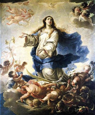 Maria Santíssima na piedade de São Francisco