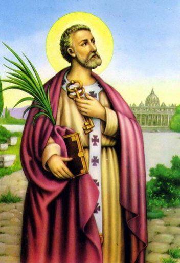 Pedro morou em Roma e foi enterrado em Roma