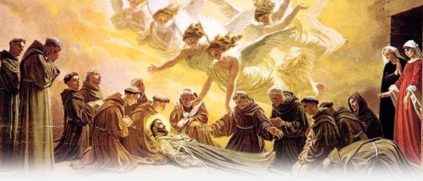 """""""Nossa Irmã Morte"""": Francisco se deita nu na terra nua"""