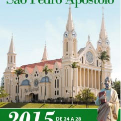 Programa da 165ª festa de São Pedro
