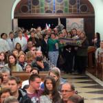 Primeiro dia do tríduo de São Pedro 2015