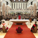 Famílias celebram e pedem a benção de Deus em Gaspar