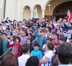 A festa das crianças para São Pedro