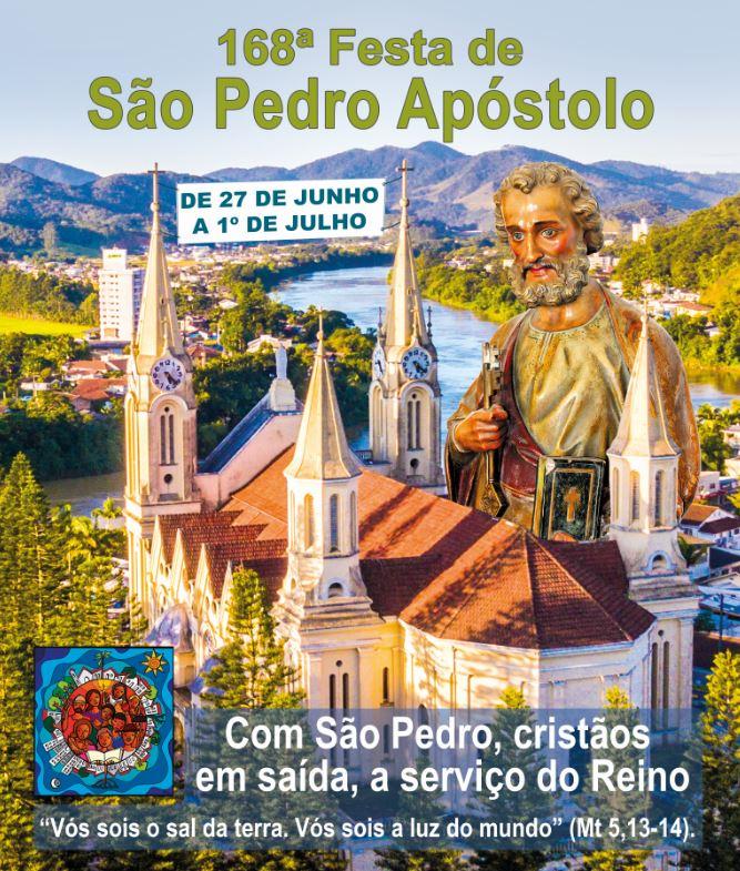 Veja a programação da Festa de São Pedro 2018
