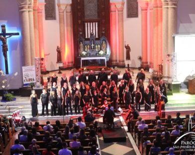 Confira as fotos e vídeo do Concerto em comemoração aos 120 anos do Coro Misto Santa Cecília