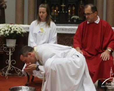 Missa de Lava pés desta Quinta-Feira Santa