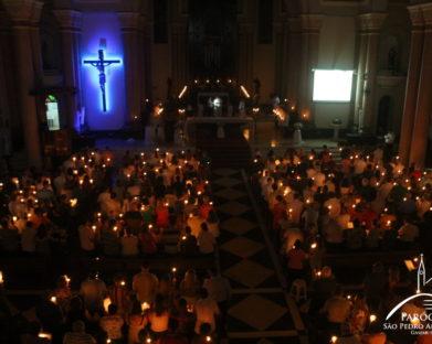 Missa de Sábado com Benção do Fogo e da Água