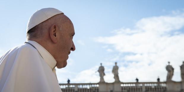 Boas férias, Papa Francisco!