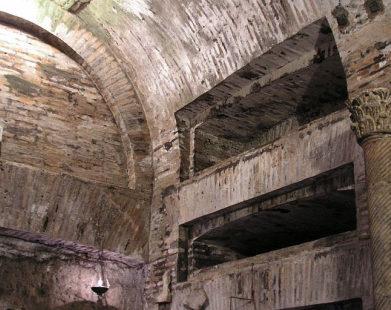 """""""Cripta dos Papas"""", na Catacumba de Calisto, guarda os restos de 16 papas"""
