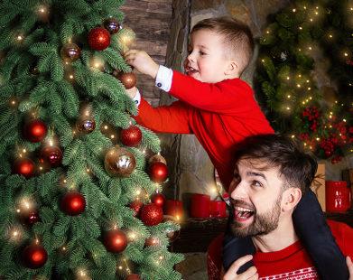 Pequenos ensinamentos sobre o simbolismo da árvore de Natal para as crianças