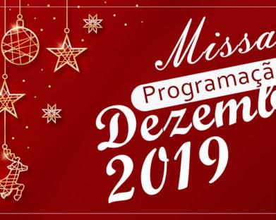 Programação de Missas para este Final de Ano