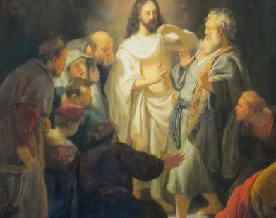 Quanto Cristo Ressuscitado apareceu, ele estava ausente: a lição de São Tomé